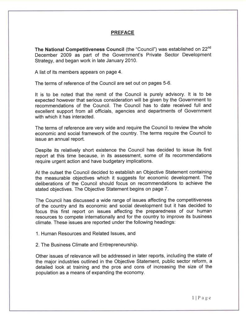 COMPETITIVENESS COUNCIL REPORT  3O SEPTEMBER 2010_Page_02