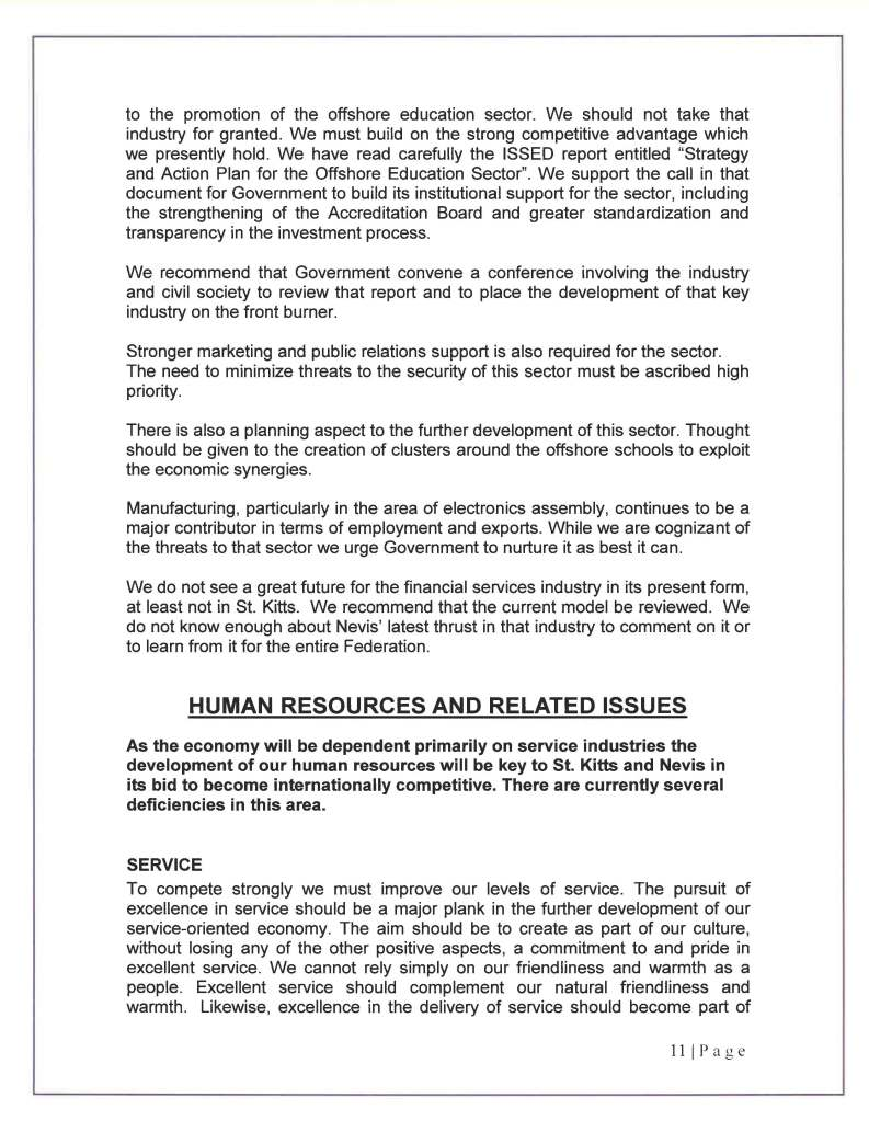 COMPETITIVENESS COUNCIL REPORT  3O SEPTEMBER 2010_Page_12