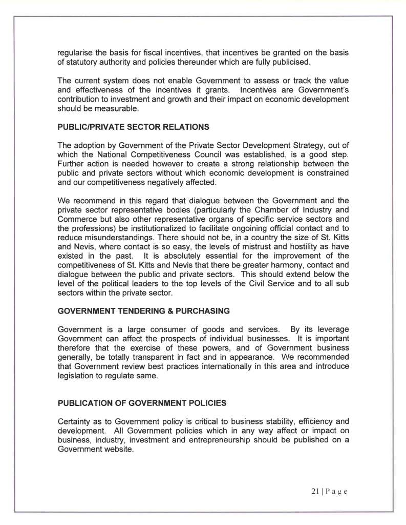 COMPETITIVENESS COUNCIL REPORT  3O SEPTEMBER 2010_Page_22