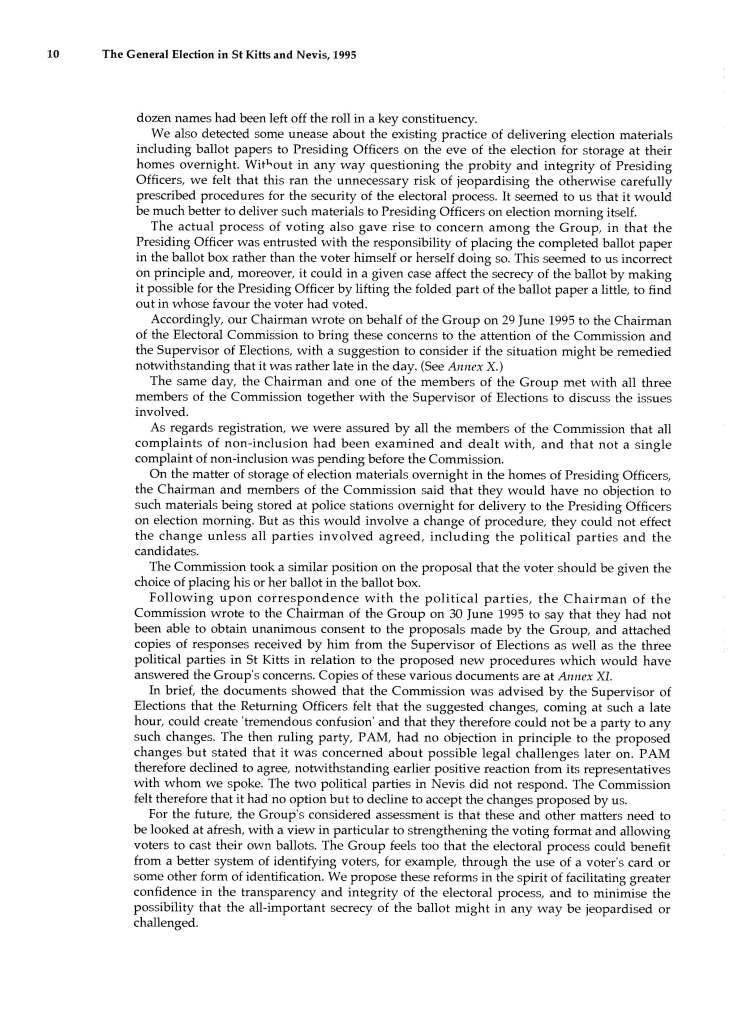 Report_of_the_Commonwealth_Observer_Group_on_the_General_Election_in_SKN_3_July_1995_Page_18