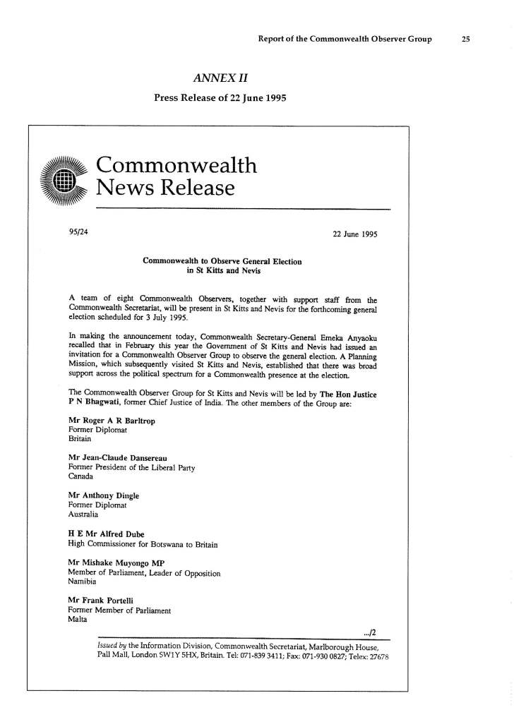Report_of_the_Commonwealth_Observer_Group_on_the_General_Election_in_SKN_3_July_1995_Page_33